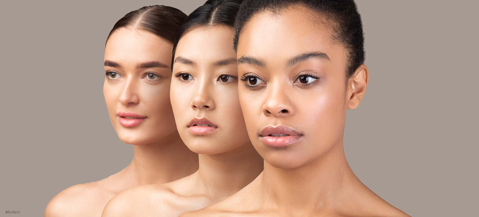 women with lovely skin